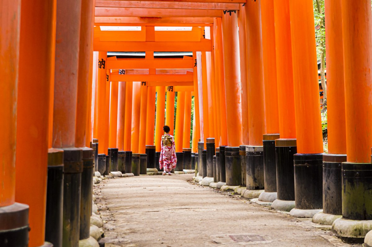 Inari Tempel ( Kyoto )